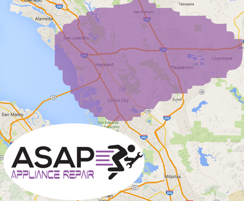ASAP Appliance Repair - Service Area