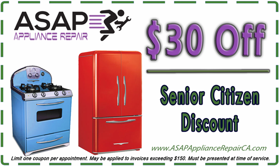 Coupons Asap Appliance Repair